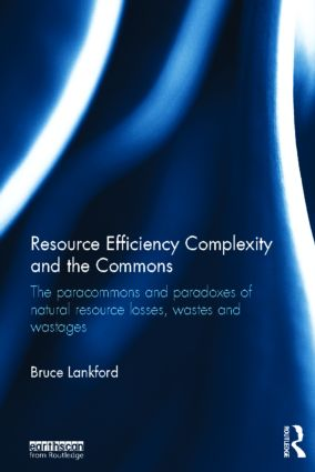 Resource Efficiency Complexity and the Commons: The Paracommons and Paradoxes of Natural Resource Losses, Wastes and Wastages (Hardback) book cover