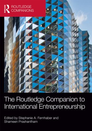 The Routledge Companion to International Entrepreneurship book cover