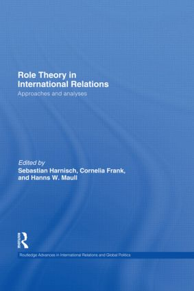 Role Theory in International Relations (Hardback) book cover