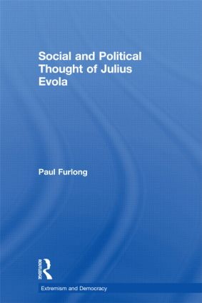 Social and Political Thought of Julius Evola (Paperback) book cover