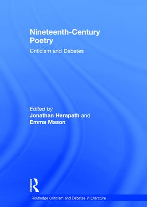 Nineteenth-Century Poetry: Criticism and Debates book cover