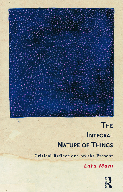 The Integral Nature of Things: Critical Reflections on the Present (Paperback) book cover