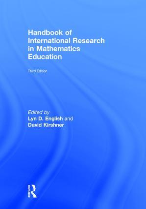 Handbook of International Research in Mathematics Education: 3rd Edition (Hardback) book cover