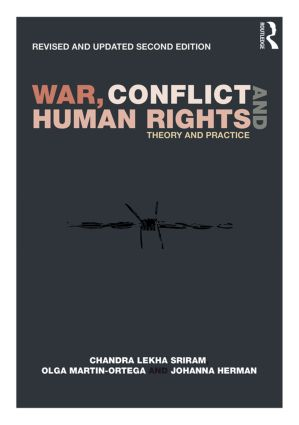 War, Conflict and Human Rights: Theory and practice, 2nd Edition (Paperback) book cover