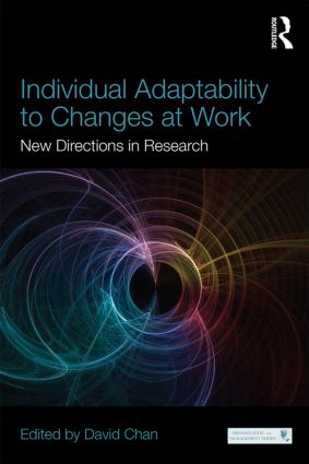 Individual Adaptability to Changes at Work: New Directions in Research book cover