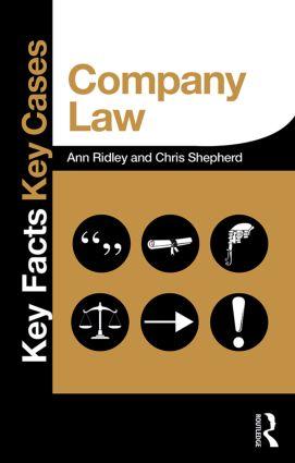 Company Law book cover