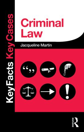 Criminal Law book cover