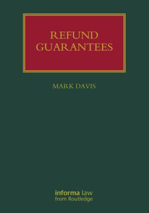 Refund Guarantees book cover