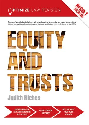 Optimize Equity and Trusts (Paperback) book cover
