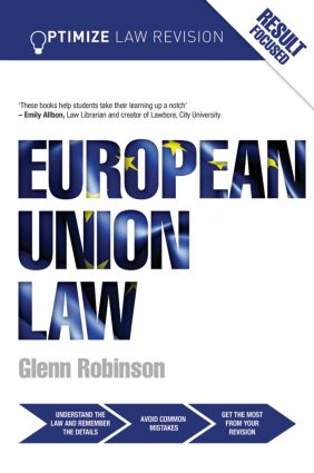 Optimize European Union Law (Paperback) book cover