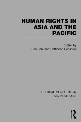 Human Rights in Asia and the Pacific: 1st Edition (Hardback) book cover