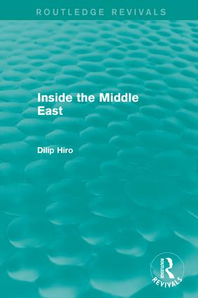 Inside the Middle East (Routledge Revivals): 1st Edition (Paperback) book cover