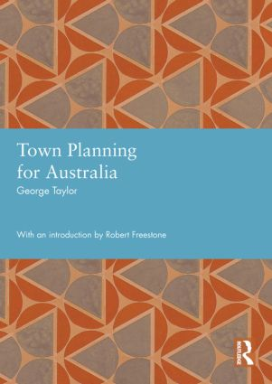 Town Planning for Australia (Hardback) book cover