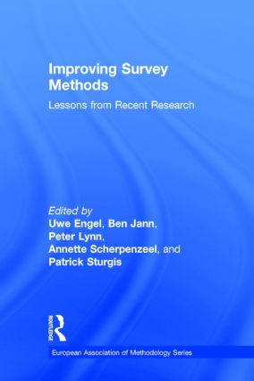 Improving Survey Methods: Lessons from Recent Research, 1st Edition (Hardback) book cover