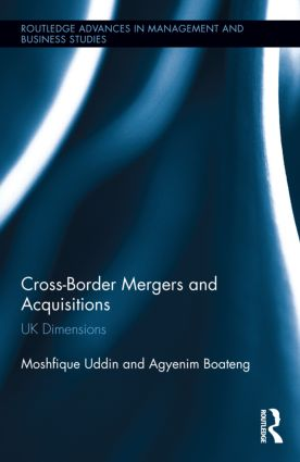 Cross-Border Mergers and Acquisitions: UK Dimensions, 1st Edition (Hardback) book cover