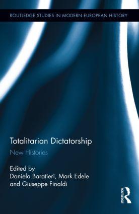 Totalitarian Dictatorship: New Histories (Hardback) book cover