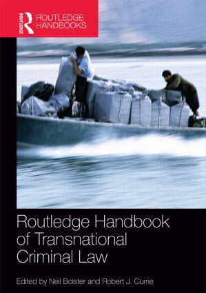 Routledge Handbook of Transnational Criminal Law: 1st Edition (Paperback) book cover