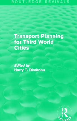 Transport Planning for Third World Cities (Routledge Revivals) (Hardback) book cover