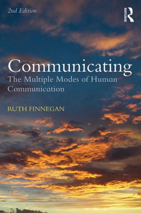 Communicating: The Multiple Modes of Human Communication book cover