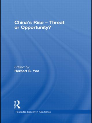 China's Rise - Threat or Opportunity? (Paperback) book cover