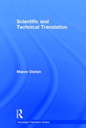 Scientific and Technical Translation: 1st Edition (Hardback) book cover
