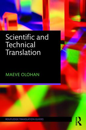 Scientific and Technical Translation  9780415837866