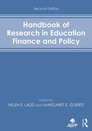 Handbook of Research in Education Finance and Policy: 2nd Edition (Paperback) book cover