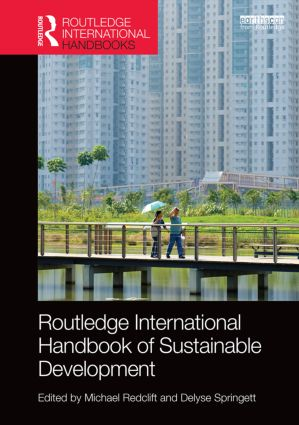 Routledge International Handbook of Sustainable Development book cover