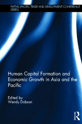 Human Capital Formation and Economic Growth in Asia and the Pacific (Hardback) book cover