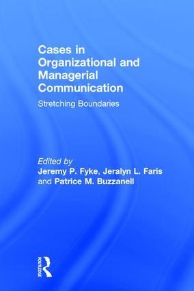 Stretching Boundaries: Cases in Organizational and Managerial Communication book cover