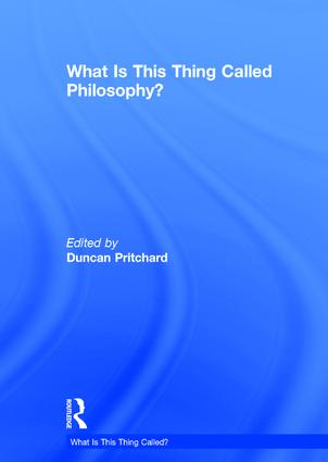 What is this thing called Philosophy? (Hardback) book cover