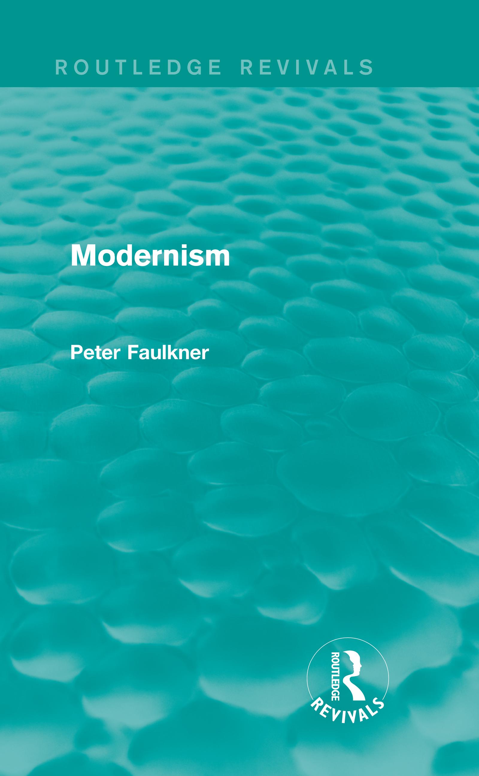 Modernism (Routledge Revivals) (Hardback) book cover