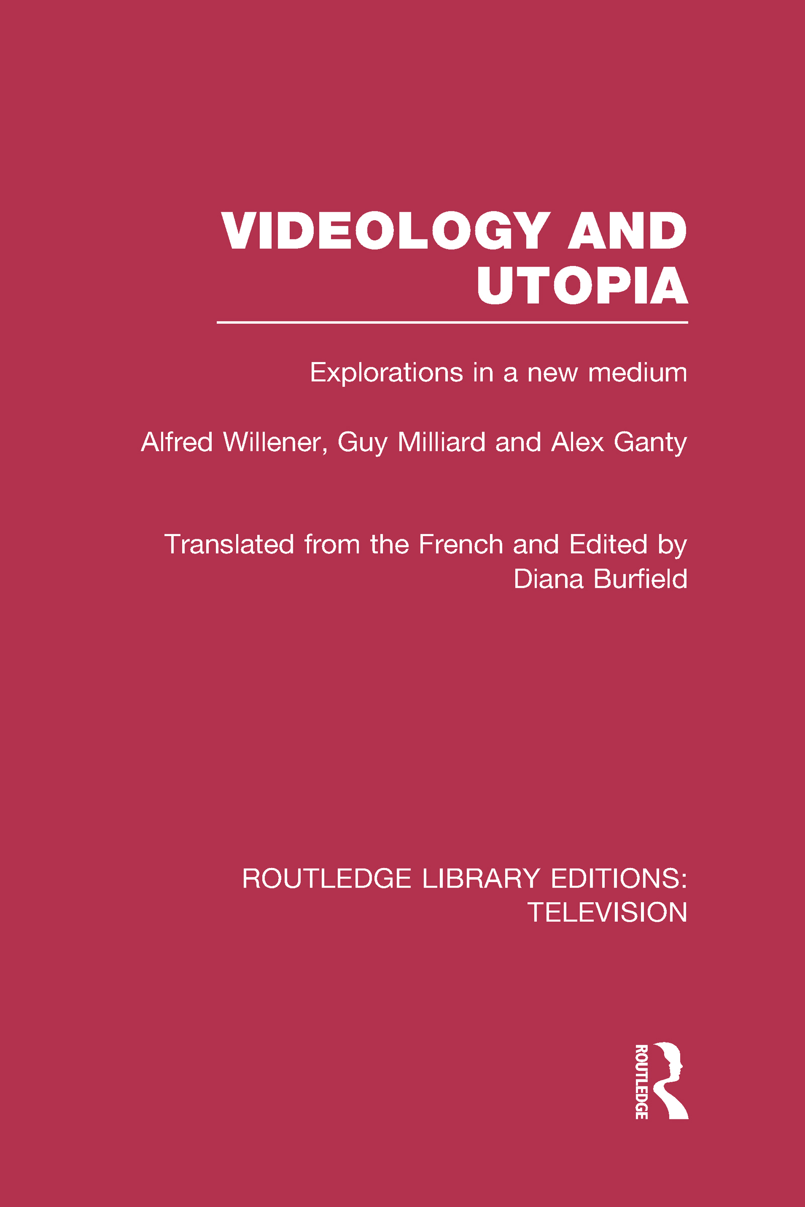 Videology and Utopia: Explorations in a New Medium book cover