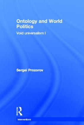 Ontology and World Politics
