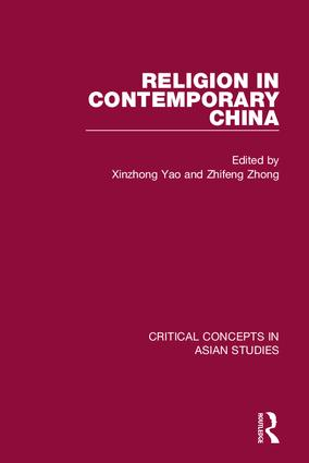Religion in Contemporary China book cover