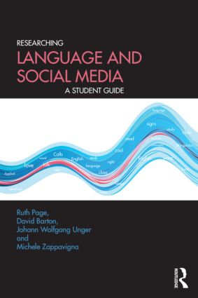 Researching Language and Social Media: A Student Guide (Paperback) book cover