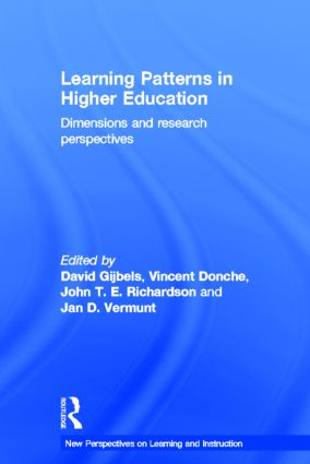 Learning Patterns in Higher Education: Dimensions and research perspectives book cover