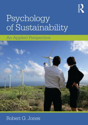 Psychology of Sustainability: An Applied Perspective, 1st Edition (Paperback) book cover