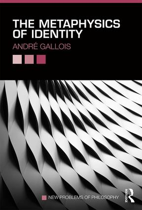 The Metaphysics of Identity: 1st Edition (Paperback) book cover