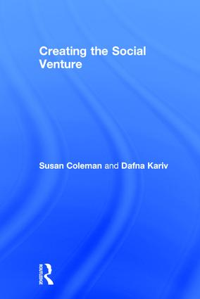 Creating the Social Venture: 1st Edition (Hardback) book cover