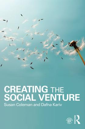 Creating the Social Venture: 1st Edition (Paperback) book cover
