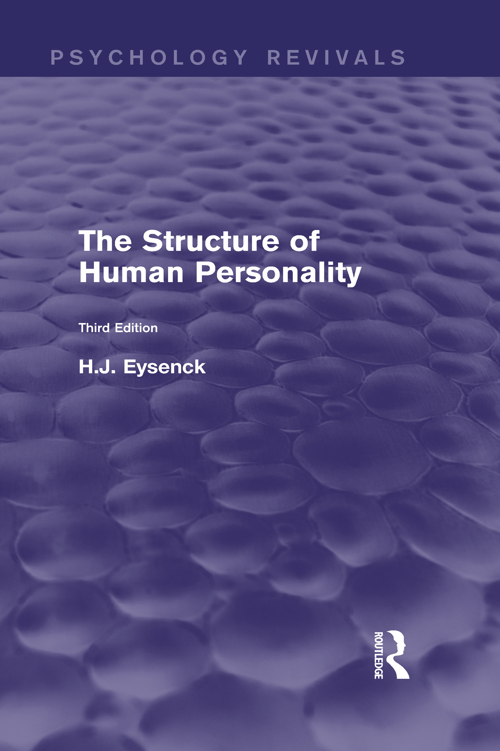 The Structure of Human Personality (Psychology Revivals) (Hardback) book cover