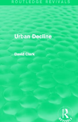 Urban Decline (Routledge Revivals) (Hardback) book cover