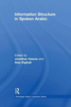 Information Structure in Spoken Arabic (Paperback) book cover