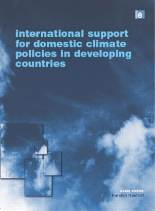 International Support for Domestic Climate Policies in Developing Countries (Paperback) book cover