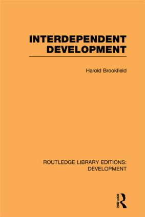 Interdependent Development (Paperback) book cover