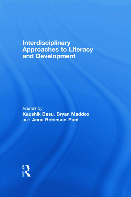 Interdisciplinary approaches to literacy and development: 1st Edition (Paperback) book cover