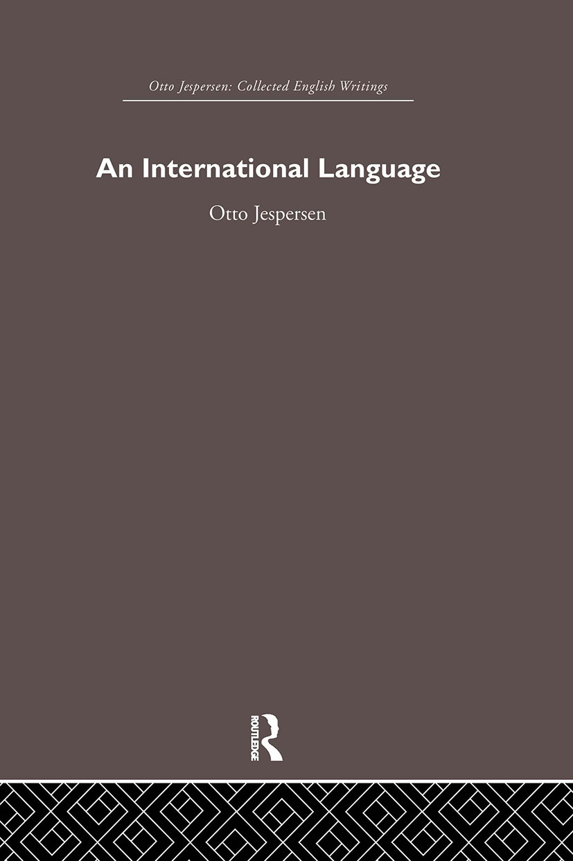 International Language: 1st Edition (Paperback) book cover