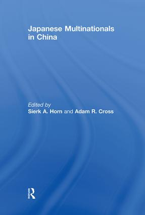 Japanese Multinationals in China (Paperback) book cover