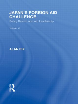 Japan's Foreign Aid Challenge: 1st Edition (Paperback) book cover